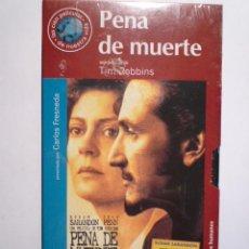 Cine: PELICULA VHS - PENA DE MUERTE. Lote 17745658