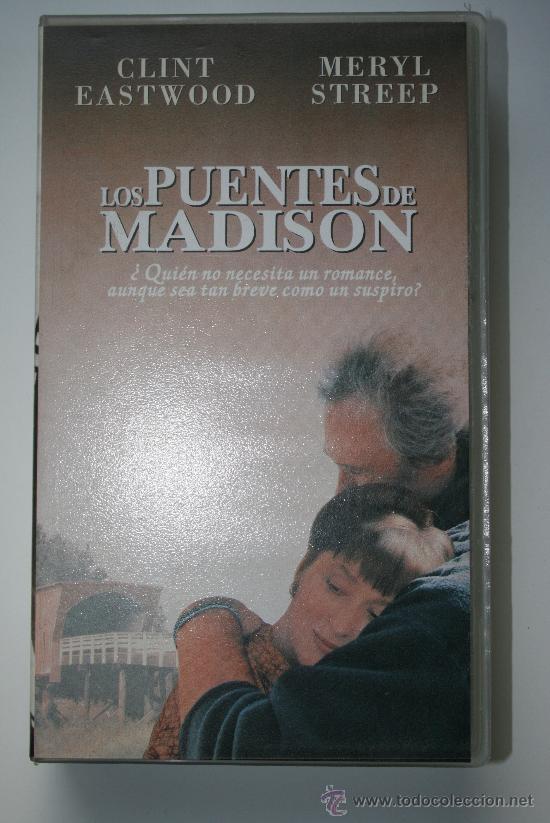 VHS LOS PUENTES DE MADISON / CLINT EASTWOOD / MERYL STREEP / 1995 (Cine - Películas - VHS)