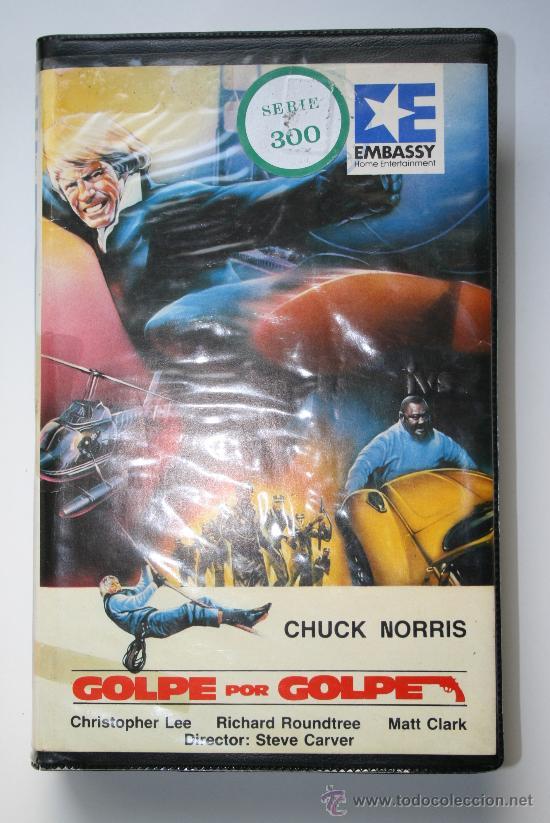 VHS GOLPE POR GOLPE / CHUCK NORRIS / 1981 (Cine - Películas - VHS)