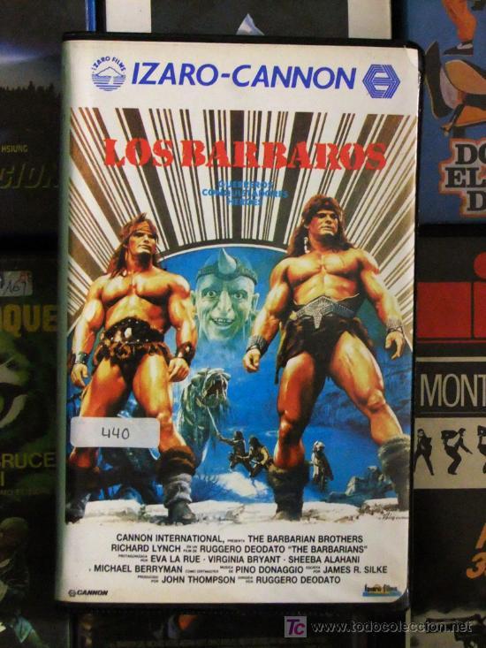 VHS\. LOS BARBAROS ( SWORD & SORCERY) AÑO 1987. DIR. RUGGERO DEODATO • SUB-GENERO: ESPADA Y BRUJERIA (Cine - Películas - VHS)