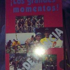 Cine: TOUR DE FRANCIA. LOS GRANDES MOMENTOS.DOCUM. VHS SELECCIÓN IMÁGENES TOURS DEL GRAN INDURAIN -RARO. Lote 26314101