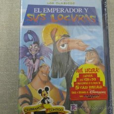 Cine: EL EMPERADOR Y SUS LOCURAS COLECION LOS CLASICOS DE DISNEY NUEVO. Lote 26307960