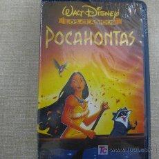 Cine: POCAHONTAS VHS WALT DISNEY COLECCION CLASICOS NUEVO. Lote 26719452