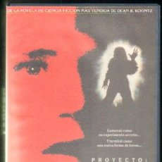 Cine: PROYECTO: TERROR (VHS-159). Lote 18087563