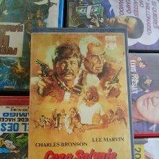 Cine: CAZA SALVAJE (1981) LEE MARVIN, CHARLES BRONSON / VHS. ORIGINAL. Lote 18149220