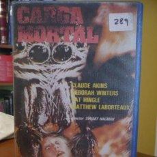 Cine: CARGA MORTAL (1977) VHS. . Lote 18154789