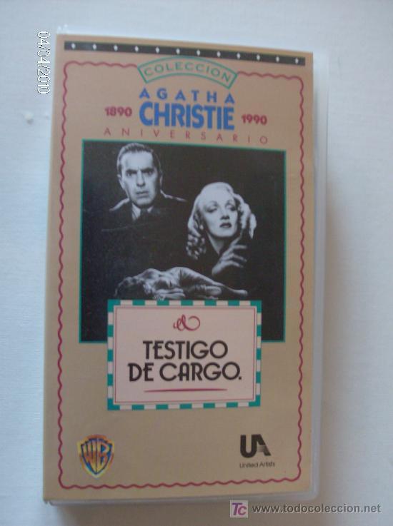 PELICULA VHS TESTIGO DE CARGO (Cine - Películas - VHS)