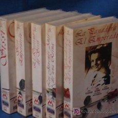 Cine: SISSI EMPERATRIZ - ROMY SCHNEIDER - CINCO PELÍCULAS. METROVIDEO 1997. Lote 27048296