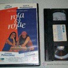 Cine: ROSA ROSAE - ANA BELEN - MARIA BARRANCO - JUANJO PUIGCORBE - CINE ESPAÑOL - VHS. Lote 162733094