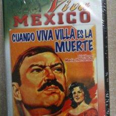 Cine: VHS-VIVA MEJICO-CUANDO VIVA VILLA ES LA MUERTE-PEDRO ARMENDARIZ-1958 COLOR-NUEVA PRECINTADA . Lote 20490642