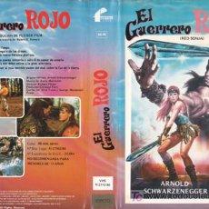 Cine: CINTA V.H.S: EL GUERRERO ROJO (PSEUDO CONAN / AÑO:1985) FILMAYER VIDEO.. Lote 19463582
