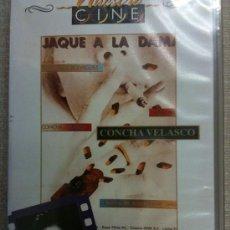 Cine: VHS-VIDEO.-JAQUE A LA DAMA(1978)-CONCHA VELASCO-CINE ESPAÑOL IMPRESCINDIBLE-NUEVA PRECINTADA. Lote 20490650