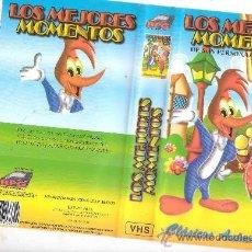 Cine: LOS MEJORES MOMENTOS / DIBUJOS ANIMADOS / PAJARO LOCO ECT. Lote 19387480
