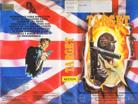 CINTA V.H.S / TARGET (CINE DE ACCIÓN OCHENTERO) ¡MUY DESCATALOGADA! (Cine - Películas - VHS)