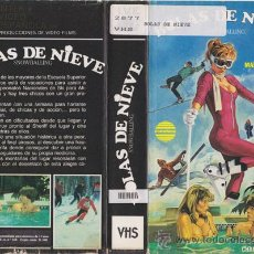 Cine: VHS • BOLAS DE NIEVE • TEEN MOVIE • CINTA DESCATALOGADA • CHARLES E. SELLIER • AMERICANADA SEXY. Lote 19625428