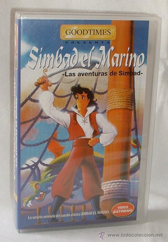 SIMBAD EL MARINO (DIBUJOS ANIMADOS). (Cine - Películas - VHS)