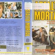 Cine: VHS\. ASALTO MORTAL. Lote 19931987