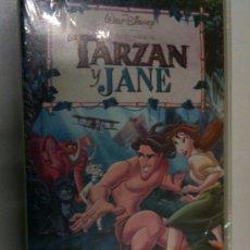 Cine: SUPEROFERTA VHS-TARZAN Y JANE-CLASICO DISNEY-NUEVA PRECINTO ORIGINAL-COMPLETA TU COLECCION. Lote 26859563