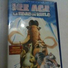 Cine: VHS-ICE AGE (LA EDAD DE HIELO)-INCLUYE LA PELI EN CASTELLANO Y EN INGLÉS-NUEVA CON PRECINTO ORIGINAL. Lote 25705638