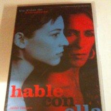 Cine: VHS-HABLE CON ELLA-PELÍCULA DE ALMODÓVAR-JAVIER CÁMARA-ROSARIO FLORES-LEONOR WATLING-NUEVA PRECINTAD. Lote 26806253