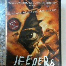 Cine: VHS-JEEPERS CREEPERS-MITO DEL CINE DE TERROR-Nº1 EN TAQUILLA-EXCELENTE PELÍCULA-NUEVA PRECINTADA. Lote 23202473
