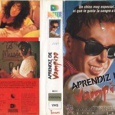Cine: VHS\ APRENDIZ DE VAMPIRO • VHS + DVD GRATIS. Lote 20205818