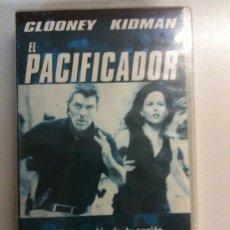 Cine: VHS-EL PACIFICADOR-GEORGE CLOONEY-NICOLE KIDMAN-NUEVA PRECINTADA. Lote 27585401