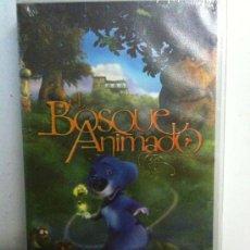 Cine: VHS-EL BOSQUE ANIMADO-DIVERTIDAS AVENTURAS ANIMADAS-NUEVA PRECINTADA. Lote 25779323