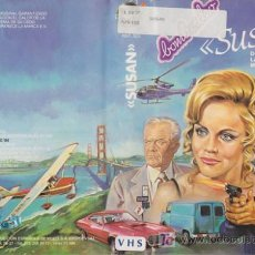 Cine: VHS\.SUSAN (THE HUNTED LADY) DONNA MILLS, RICHARD LANG. Lote 20709215