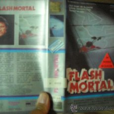 Cine: FLASH MORTAL / TERROR. Lote 23661484