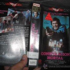 Cine: CONSPIRACION MORTAL-VHS. Lote 20488256