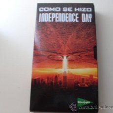 Cine: INDEPENDENCE DAY - COMO SE HIZO - ( JEFF GOLDBLUM, WILL SMITH ). Lote 20675958