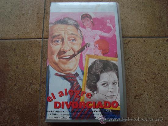 OELICULA VHS EL ALEGRE DIVORCIADO FILMAYER VIDEO 1990 (Cine - Películas - VHS)