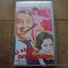 Cine: OELICULA VHS EL ALEGRE DIVORCIADO FILMAYER VIDEO 1990 . Lote 27393685