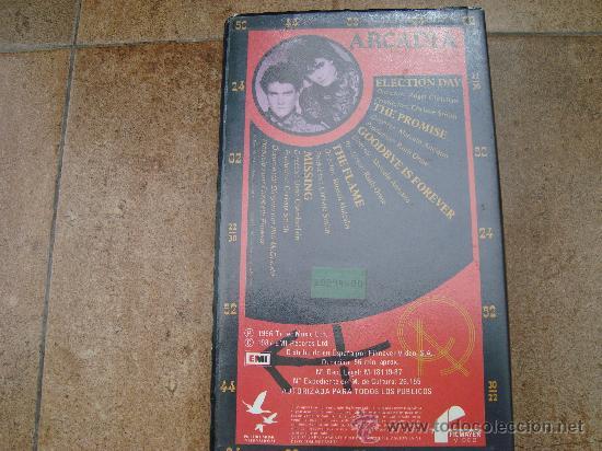 Cine: PELICULA VHS ARCADIA FILMAYER VIDEO 1987 - Foto 2 - 27188708