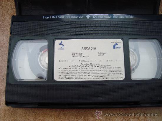 Cine: PELICULA VHS ARCADIA FILMAYER VIDEO 1987 - Foto 3 - 27188708