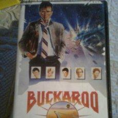 Cine: LAS AVENTURAS DE BUCKAROO BANZAI (W.O.RICHTER, 1984) -VHS ORIGINAL 80´S -. Lote 21099584