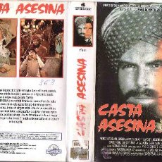 Cine: CASTA ASESINA / RAREZA-VHS. Lote 21435773