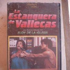 Cine: LA ESTANQUERA DE VALLECAS (1987) VHS - ELOY DE LA IGLESIA.. Lote 21494046