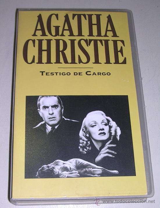 TESTIGO DE CARGO - TYRONE POWER - MARLENE DIETRICH - C LAUGHTON - POCAS SEÑALES DE USO (Cine - Películas - VHS)