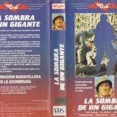 Cine: CINTA V.H.S / LA SOMBRA DE UN GIGANTE (KIRK DOUGLAS, SENTA BERGER, JOHN WAYNE). Lote 21525458