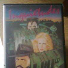 Cine: INQUIETUDES (ALAN RUDOLPH, 1986) - VHS ORIGINAL 80´S -. Lote 21557026