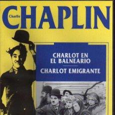 Cine: VHS - CHARLIE CHAPLIN - Nº 13 CHARLOT EN EL BALNEARIO - CHARLOT EMIGRANTE. Lote 21585582
