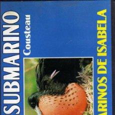 Cine: VHS - MUNDO SUBMARINO - JACQUES COUSTEAU - Nº 33 PÁJAROS MARINOS DE ISABELA. Lote 21587184