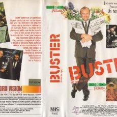 Cine: CINTA V.H.S / BUSTER, EL ROBO DEL SIGLO / PHIL COLLINS. Lote 21614378