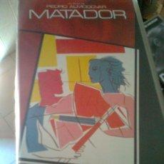 Cine: MATADOR (PEDRO ALMODÓVAR, 1986) - VHS ORIGINAL -. Lote 38573680