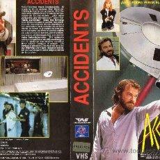 Cine: ACCIDENTS / VHS CAJA GRANDE. Lote 21656674