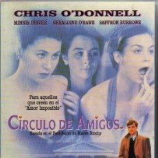 Cine: VHS - CIRCULO DE AMIGOS - CHRIS O'DONNELL. Lote 21675895