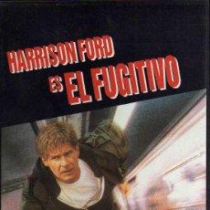 Cine: VHS - EL FUGITIVO - HARRISON FORD. Lote 21677633