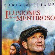 Cine: VHS - ILUSIONES DE UN MENTIROSO - ROBIN WILLIAMS. Lote 21678033